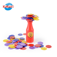 Educational contest bottle tabletop balancing board game pieces with fine workmanship