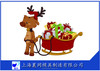 hot sale OEM rotomolding antique christmas sleigh