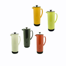 2016 hot style 1000ml ceramic french coffee press with various colors