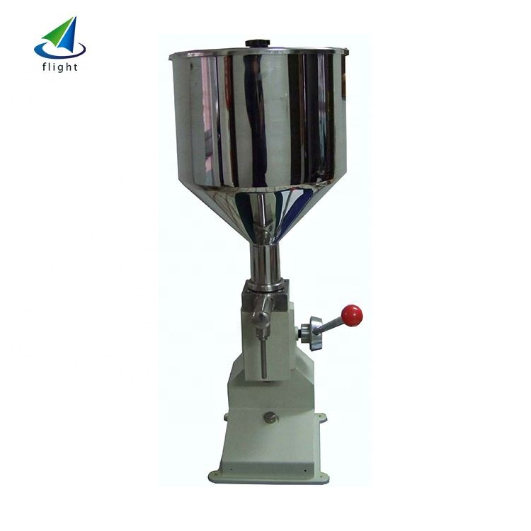 China Factory Piston <strong>A02</strong> Manual Pomade Cream Filling Machine\/High Viscous Liquid Filling Machine