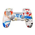 2017 Customized anti-slip silicone protect cover case for PS4 Controller