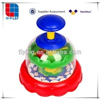 spinning top, sionning balls, promotion plastic toy