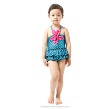 Hot sale wholesale blue baby girl mermaid romper jumpsuit kid mermaid swimming costume