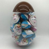 surprise egg shaped chocolate/fairy tale world design chocolate jam and biscuit