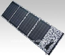 new solar charger bag with 18V out put ,charge for 12v battery ,notebook