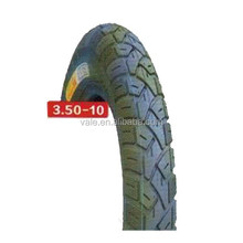 Alibaba China Tubeless Motorcycle Tyre 3.50-10