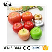 2018 wholesale high simulate Lifelike Red Artificial Faux Fake Apples