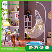 2017 Hot supply Europeanismcane hanging chair TOP quality cane swing chair in Cream/hang Chair