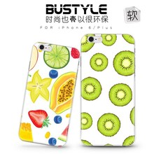 New! The latest summer fruits design soft tpu case for iPhone I5 I6 plus from factory in China