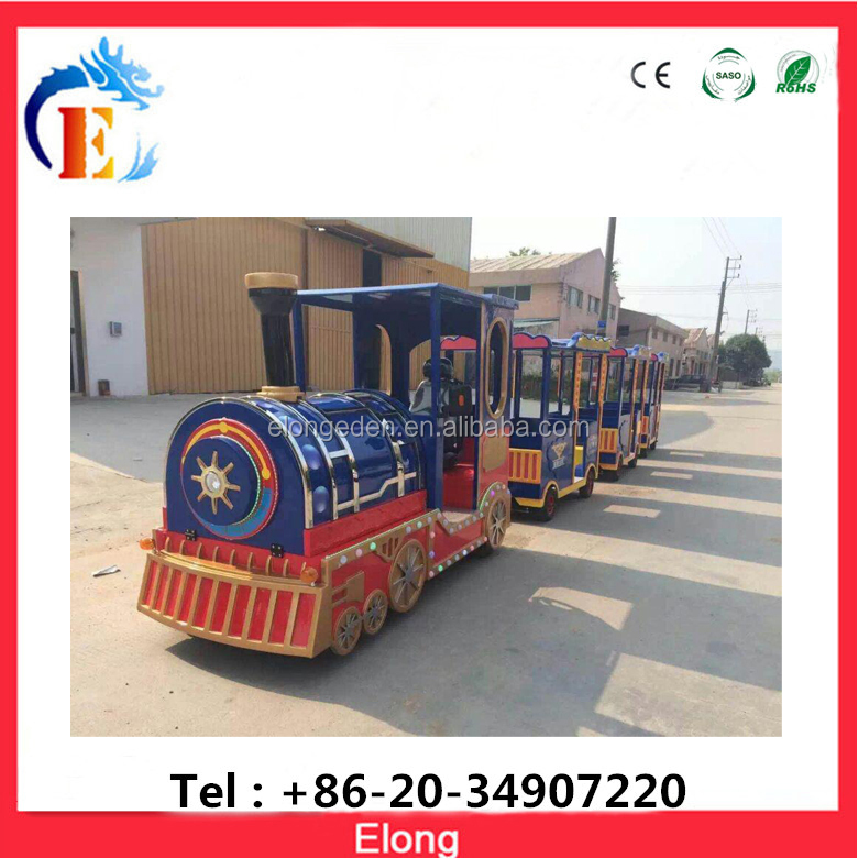 Hot sale electric amusement kids ride train,railway train for sale