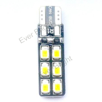 T10 2835 12SMD Canbus lights Car accessories Interior