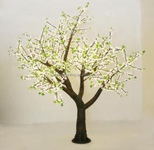 Outdoor artificial trees with lights warm white lighted led cherry tree light for yard or garden decoration