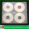 White 8 DVD Binder Pages CD Storage Sleeves