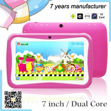 ZXS-C2 7 inch Dual Core Wifi Camera Child Pad, Hot Selling Children Learning Tablets PC, Students Android Tablets MID Factory