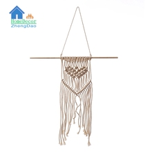 Cheap price hand knit macrame wall hanging manufacturer