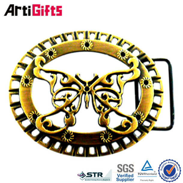 Die casting 3d dragon large belt buckles