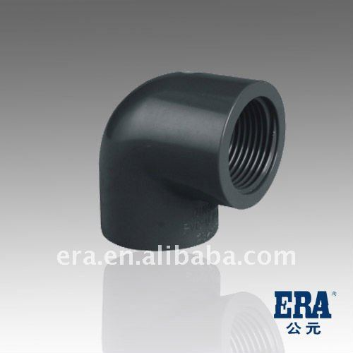 New Material PVC Pipe and Fittings UPVC Fitting 90 elbow DIN, PVC Drainage Fitting