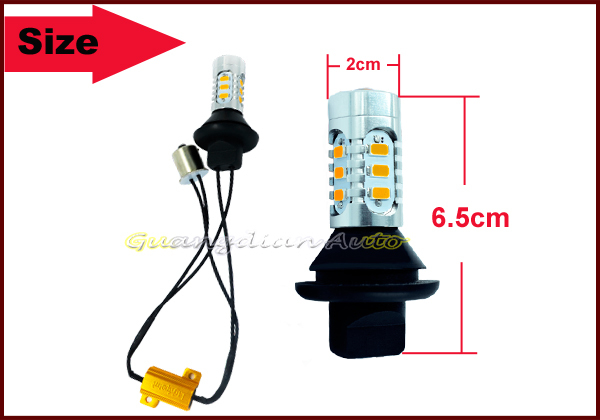 lightpoint 2015 exclusive design Car led Turn signal light S25 Led Car Bulb 1156 BA15S 7.5w led car turn light