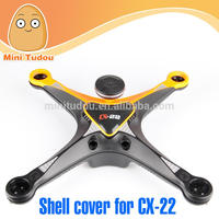 Minitudou drone parts Cheerson CX-22 Follow Me Drone Dual GPS Quadcopter Frame Kit