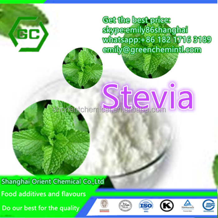 stevia extracts stevioside with Halal Kosher ISO NOP