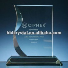 new design crystal plaque award
