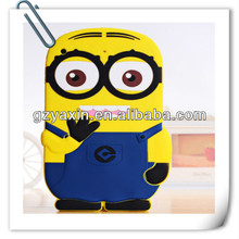 Despicable me minions case for samsung,new designed minion case for ipad 2 3 4