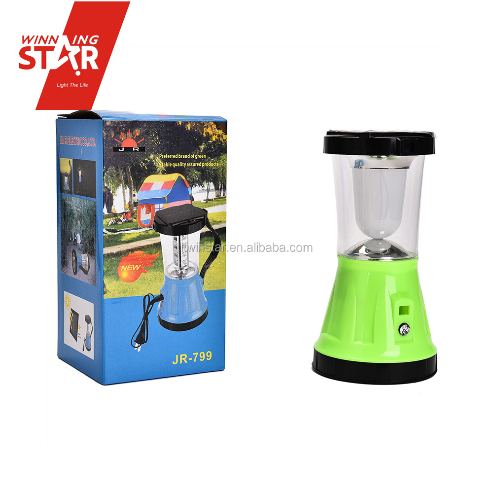 5+1W LED Solar Rechargeable Portable Solar Lamp, Solar Light, Camping Light