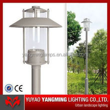 Hot new products for 2015 low price 5 years warranty aluminium garden led lamp