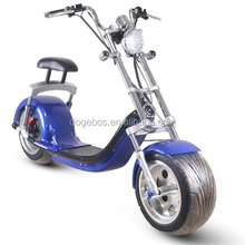 Netherlands warehouse 2018 Cheap mini 3000W kids big fat tire chopper removable Battery citycoco electric motorcycle