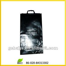 2012 convenience logo printing handled plastic shopping bag