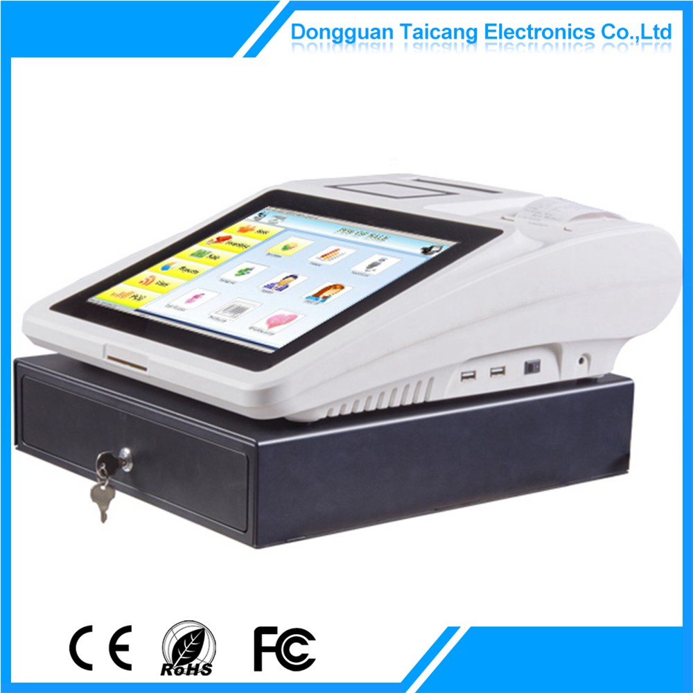 Bottom price professional 12 inch cheap wholesale p[rice pos machine