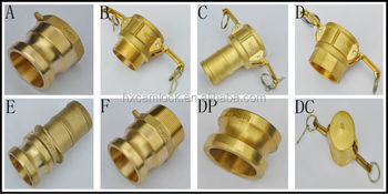 2015 new and better price for brass camlock coupling