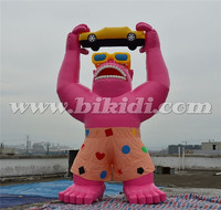 Hot Selling 6mH Giant Inflatable Gorrila Animal Model K2082