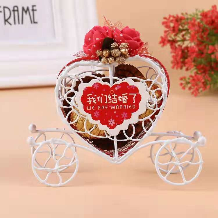 Exquisite craft chocolate candy packing box for <strong>wedding</strong> Valentine's Day party decoration