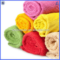 high quality cheap 100% certified organic cotton towel