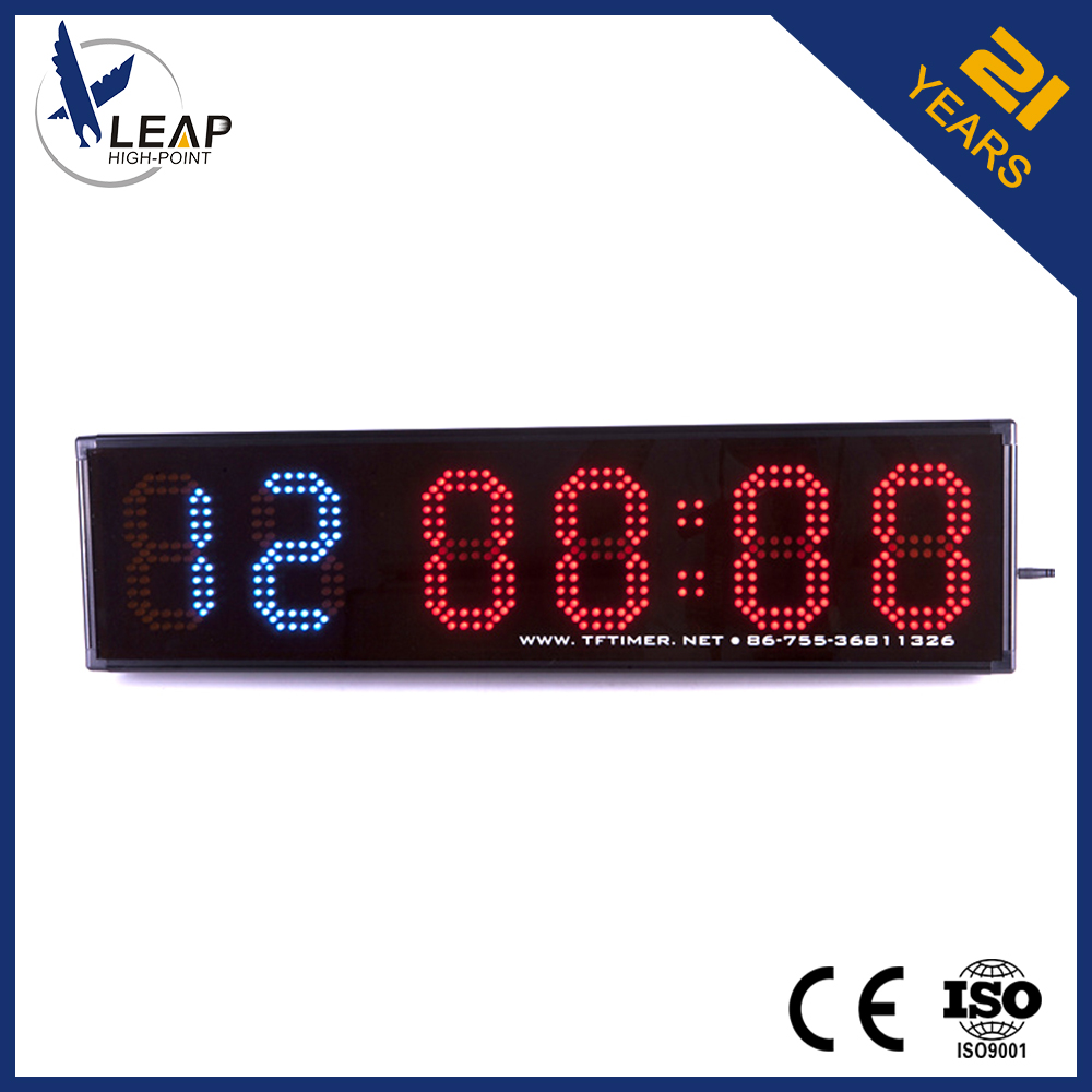 Wireless remote controlled 2.0 kg weight led boxing equipment timer