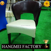 2016 Lateset Fashion arm chair with metal legs and high quality PU leather