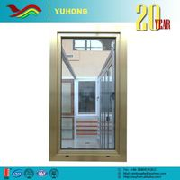 Hot sale high quality new design low-E glass fancy entry doors