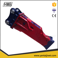 Demo hydraulic breaker for backhoe