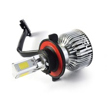 New Design H13 Car Headlight Led Lamps 3600LM canbus 35w ac slim car hid xenon kit h7 6000k