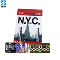 New York metal sign license plate