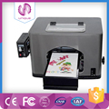 cheap A4 size flatbed digital textile printer