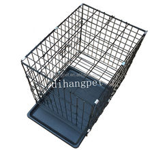 Promotion Competitive Price Indoor and Outdoor Portable Hot Sale Welded Wire Mesh Dog Cage With 2 Door