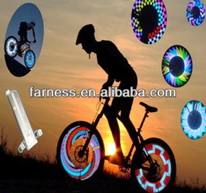 2014 Programable Led Bike Spoke Light Bicycle Accessories