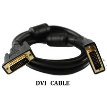 Dvi Cable 24+1 Pin Adapter Cables 1080p For Lcd Dvd Hdtv Xbox Ps3