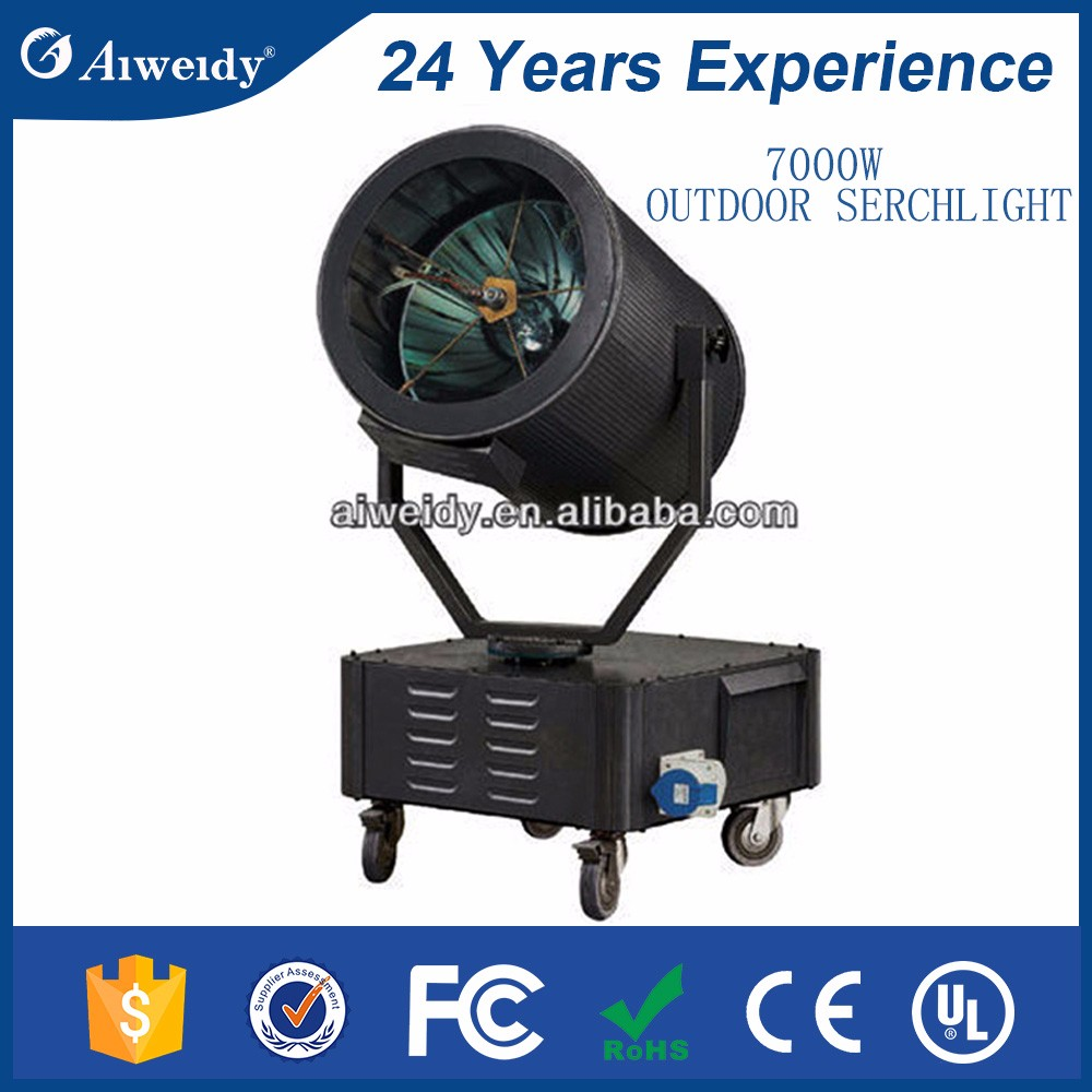 uangzhou aiweidy stage light waterproof outdoor light cheap led marine searchlights sky beam searchlight