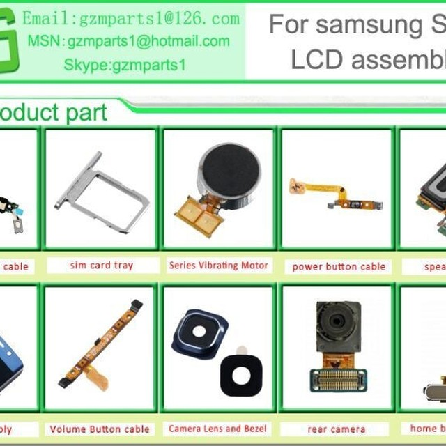 LCD Screen Assembly with Front Housing For Samsung Galaxy Note i9220 N7000