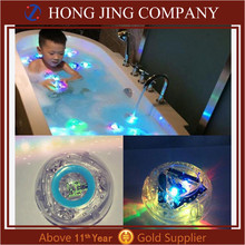 2017 China Baby Shower Gift LED Glowing Bath Tub Toy