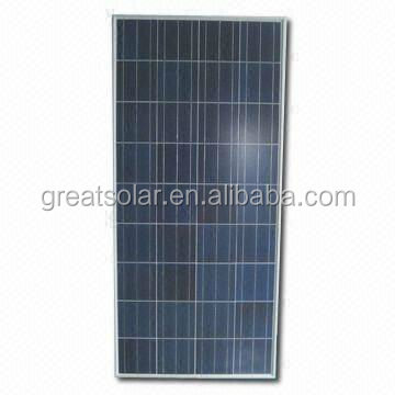 Cheap price per watt solar panel pv module 150w made in Nanjing,Jiangsu,China