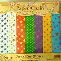 Assorted Stars design hanging Paper Chains For birthday Party decoration